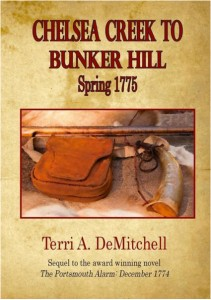Chelsea Creek to Bunker Hill, by Terri DeMitchell